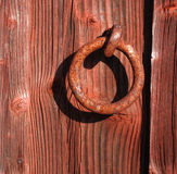rusty pierścionek fotografia stock