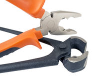 Rusty pincers and pliers Royalty Free Stock Image