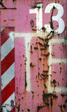 Rusty pink metal (13) royalty free stock photos