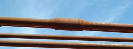 Rusty pipe Royalty Free Stock Photos