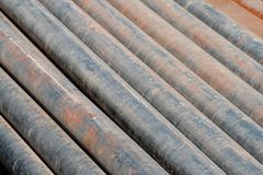Rusty pipe abstract background Royalty Free Stock Image