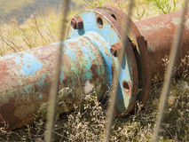 Rusty pipe royalty free stock photography