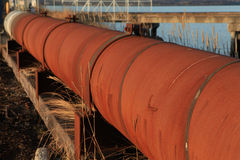 Rusty Pipeline Royalty Free Stock Image