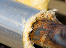 Rusty pipeline Royalty Free Stock Photo
