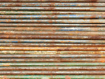 Rusty Pipes Background Wide Royalty-vrije Stock Foto's