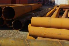 Rusty pipes Royalty Free Stock Photos