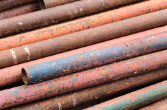 Rusty pipes. Royalty Free Stock Photos