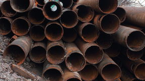 Rusty pipes Royalty Free Stock Photos
