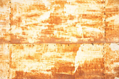 Rusty plate background Stock Photos