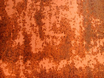 Rusty plate Royalty Free Stock Image