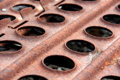Rusty plates Royalty Free Stock Photography