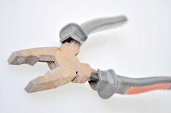 Rusty pliers Royalty Free Stock Image