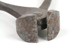 Rusty Pliers stockfotos