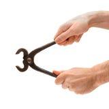 Rusty pliers Royalty Free Stock Photo