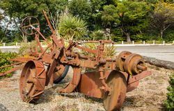 Rusty Plough Royalty Free Stock Photos