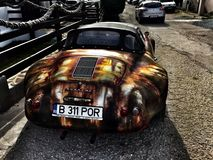 Rusty Porsche Photographie stock