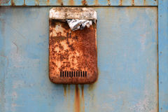 Rusty post box Royalty Free Stock Images
