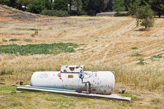 Rusty Propane Tank Stock Photography