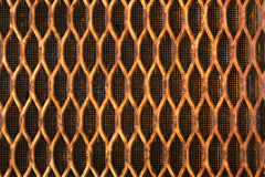 Rusty radiator grille Royalty Free Stock Photo