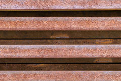 Rusty rail metal Royalty Free Stock Photo