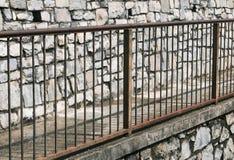 Rusty railing Stock Photography