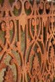 Ornate Rusty Railings. Rusty Railings, near Sinnamon Park/Seventeen Mile Rocks in Brisbane, Queensland, Australia Royalty Free Stock Image