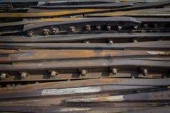 Rusty Rails 02 Fotografia Stock Libera da Diritti