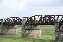 Free Rusty Railway Bridge Stock Photo - 39701910