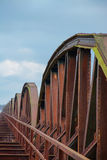 Rusty Railway Bridge Royalty Free Stock Photography