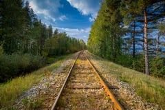 Rusty railway Royalty Free Stock Photos