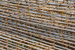 Rusty rebar Stock Photo