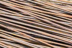 Rusty rebar Royalty Free Stock Photography