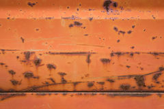 Rusty red metal background. Royalty Free Stock Photos
