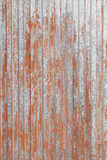 Rusty red metal door Royalty Free Stock Photo