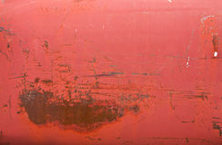 Rusty red metal tank texture Stock Photos