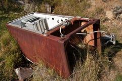 Rusty Refrigerator Stock Image