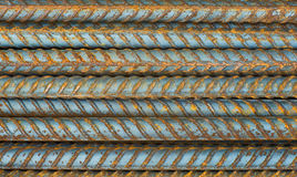 Rusty reinforcing bars Royalty Free Stock Photos