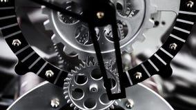 Rusty Retro Mechanic Clock Gears almacen de video