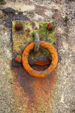 Rusty ring Royalty Free Stock Photo