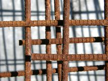Rusty rods Royalty Free Stock Photo