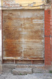 Rusty Roll Blinds Stock Images