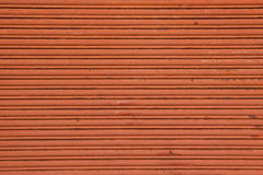 Rusty roller door background. Stock Photo