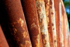Rusty Rollers Royalty-vrije Stock Afbeeldingen