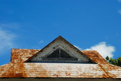 Rusty Roof Royalty Free Stock Photo