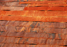 Rusty roof Royalty Free Stock Image