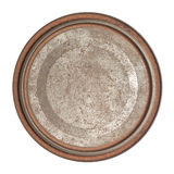 Rusty round tin box Stock Photography