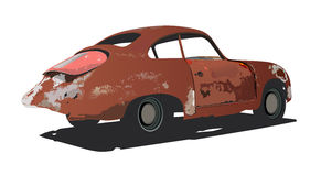 rusty samochód Obrazy Stock