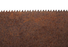 Rusty Saw Royalty Free Stock Photography