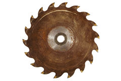 Rusty Saw blade Stock Image