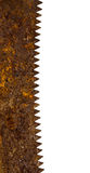 Rusty saw blade Stock Photography